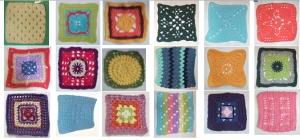 18 squares
