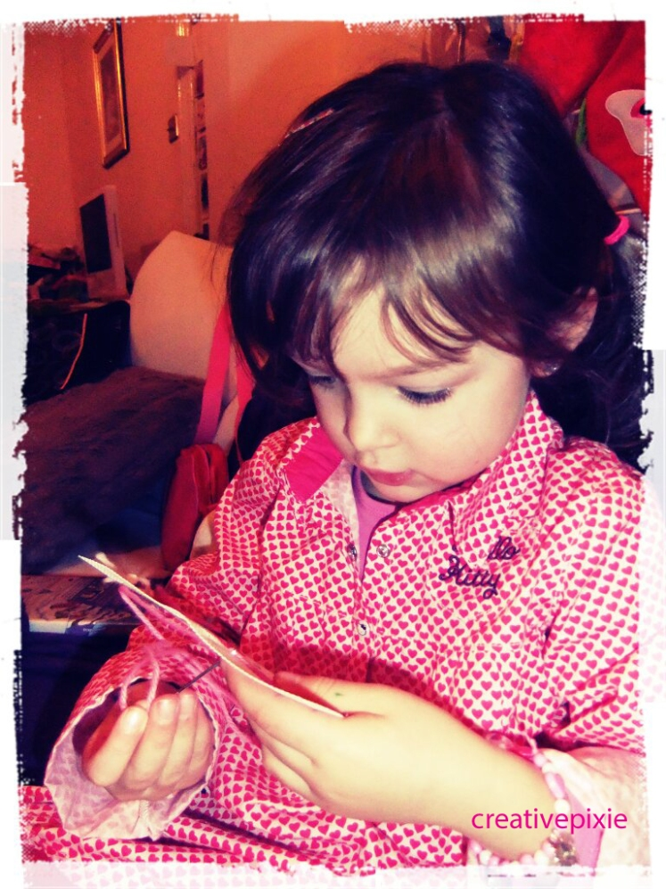 Poppy sewing