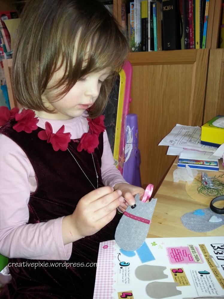 Poppy sewing