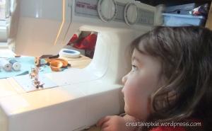 sewing needle web