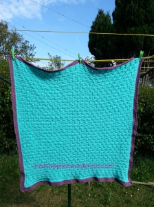 finished blanket whole