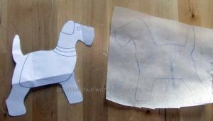 dog on interfacing