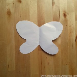 paper butterfly step3