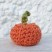 Creative Pixe small crochet pumpkin