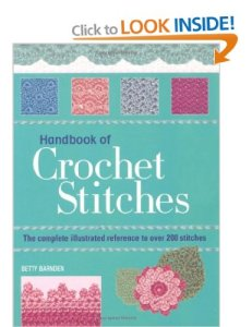 Handbook of crochet stitches book