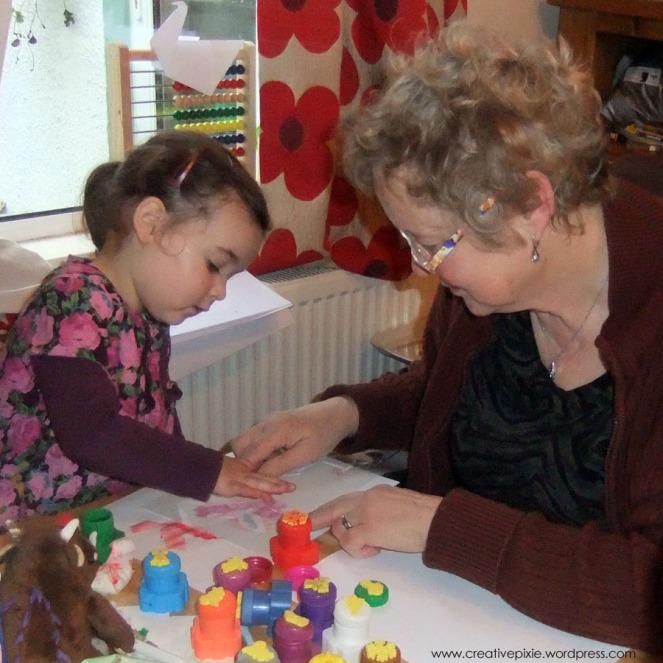 E and Nanny craft
