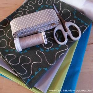creative pixie MIM bunting 1 materials