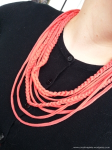 Creative Pixie t shirt yarn full necklace