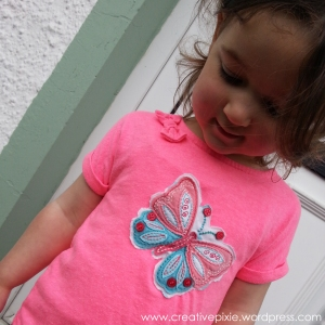 MIM creative pixie upcycled Tshirt & Miss E