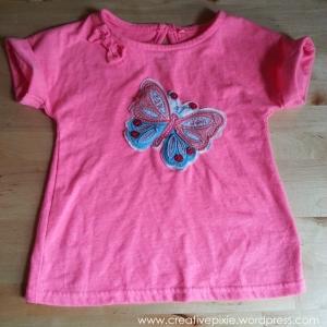 MIM creative pixie upcycled Tshirt
