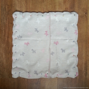 creative pixie cushion complete trim sandwich step8