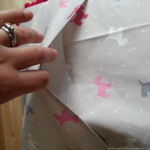 creative pixie cushion turn out step10