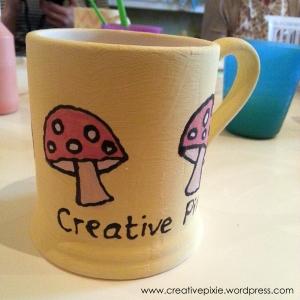 creative pixie mushroom mug1