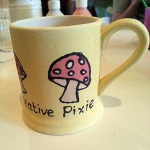 creative pixie mushroom mug2