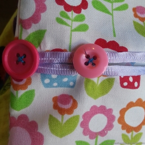 creative pixie peg bag sew buttons step8