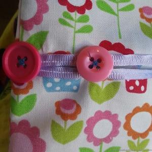 creative pixie peg bag sew buttons step8