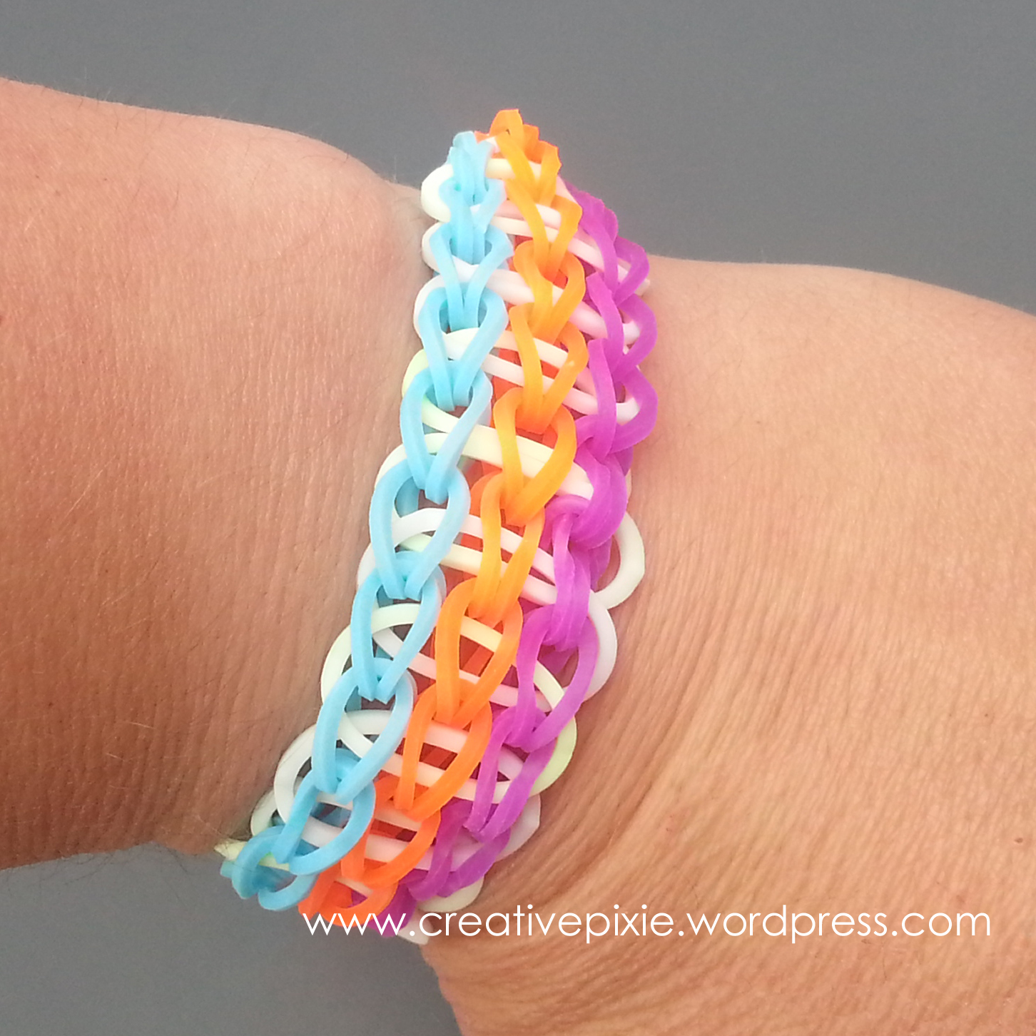 Make It Monday Loom Band Bracelets The Creative Pixie