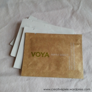 NI meet up goodie bag Voya