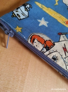 creative pixie MIM bag zip close up