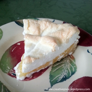 MIM lemon meringue slice