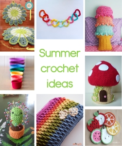 Creative Pixie summer crochet ideas