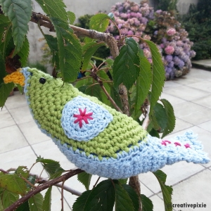 MIM creative pixie bower bird hiding