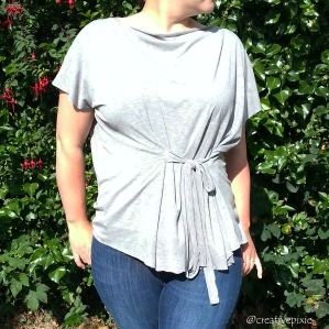 MIM creative pixie Grecian top front