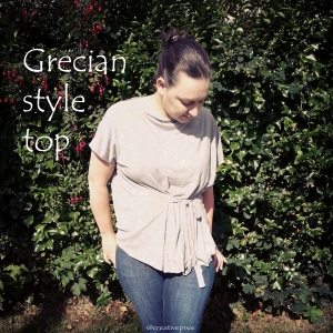 MIM creative pixie Grecian top