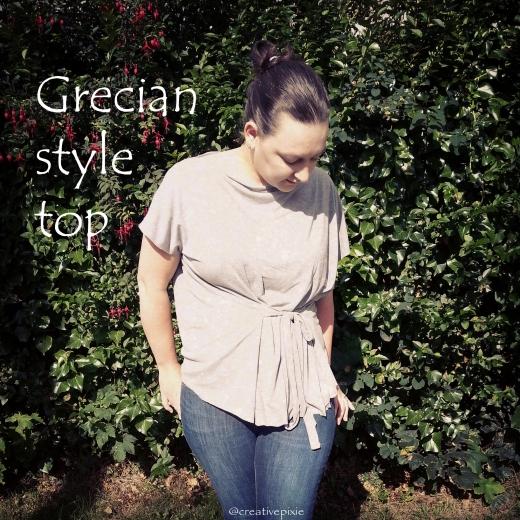MIM creative pixie Grecian top