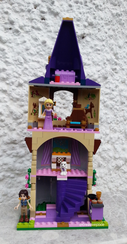 Make It Monday Lego Rapunzel S Tower The Creative Pixie