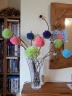 creative pixie finished pom-pom branches