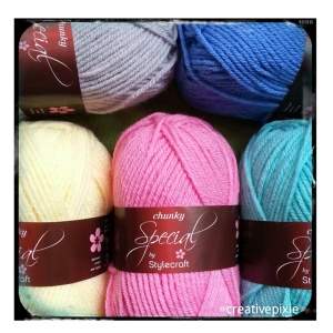 creative pixie heart blanket yarn