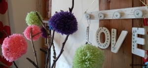 creative pixie pom-pom branches