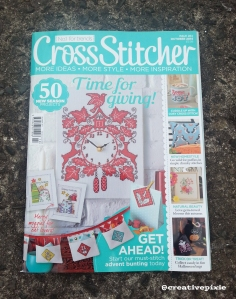 MIM Christmas cross stitcher magazine