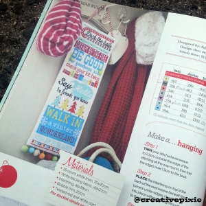 MIM Christmas cross stitcher magazine2