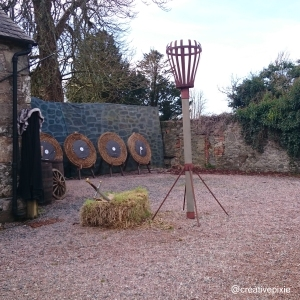 archery at Castle Ward