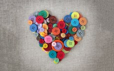 heart-buttons-love-fabric-hd-wallpaper