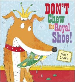 official Dont chew the royal shoe cover