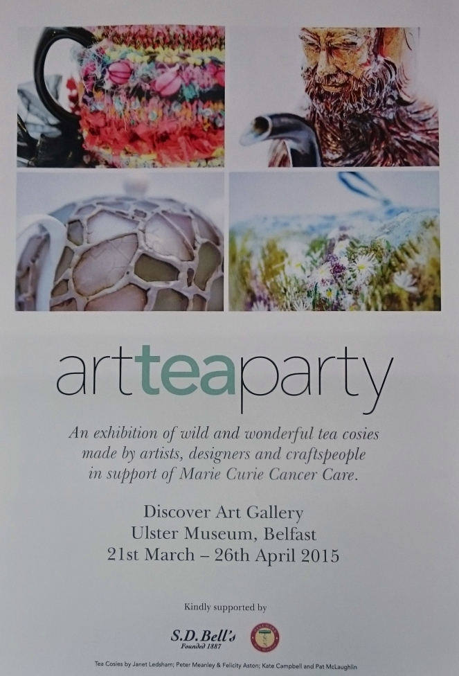 art tea party poster