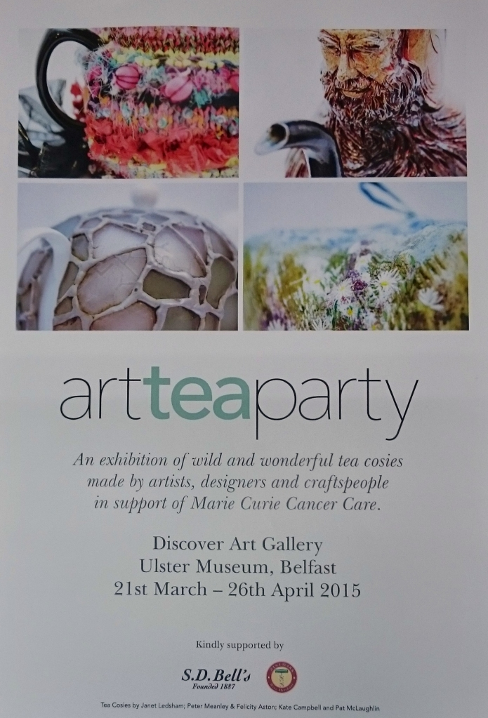 art tea party poster