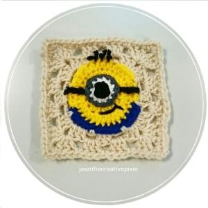 C crochet minion