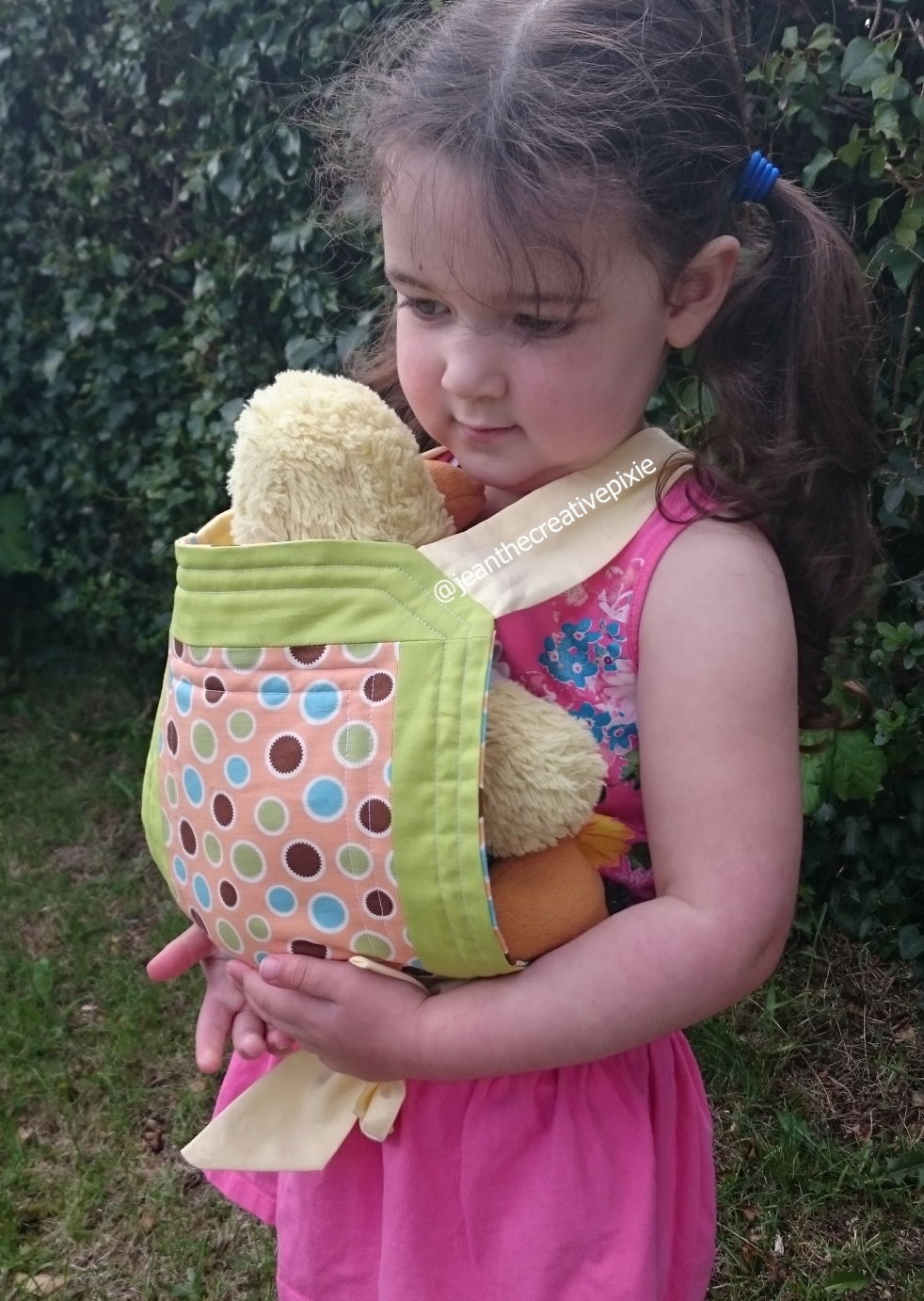 creative pixie doll carrier miss e front 2